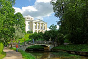 Pavlovsk Palace And Park