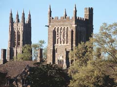Duke University at Durham